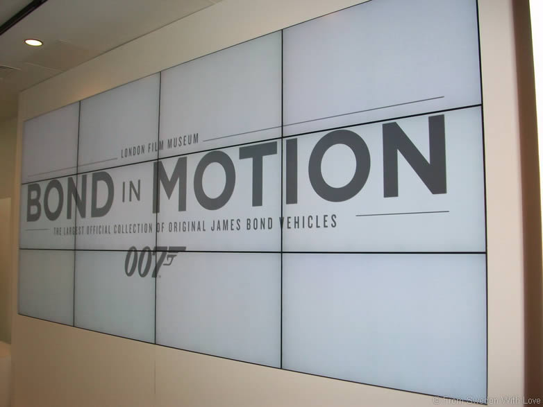 Bond in Motion Covent Garden London