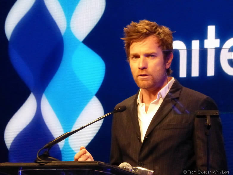 Ewan McGregor Unite 4 Good Hollywood gala