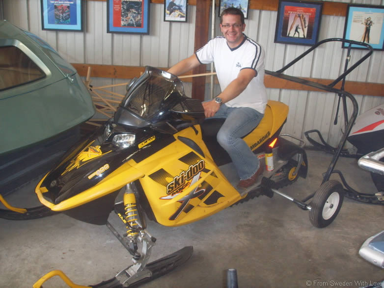 Ian Fleming Foundation Ski doo