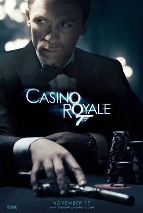 James Bond poker kortspel