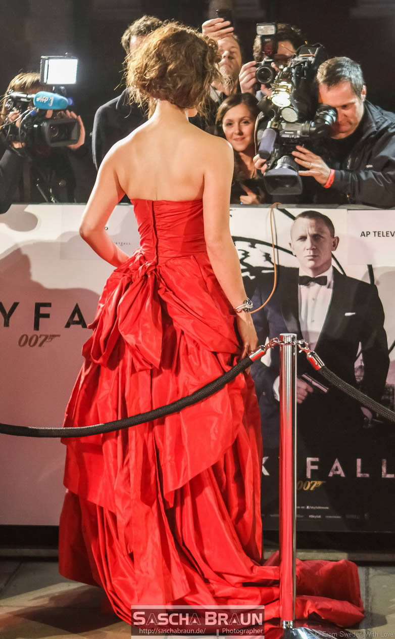 Skyfall Royal world premiere London
