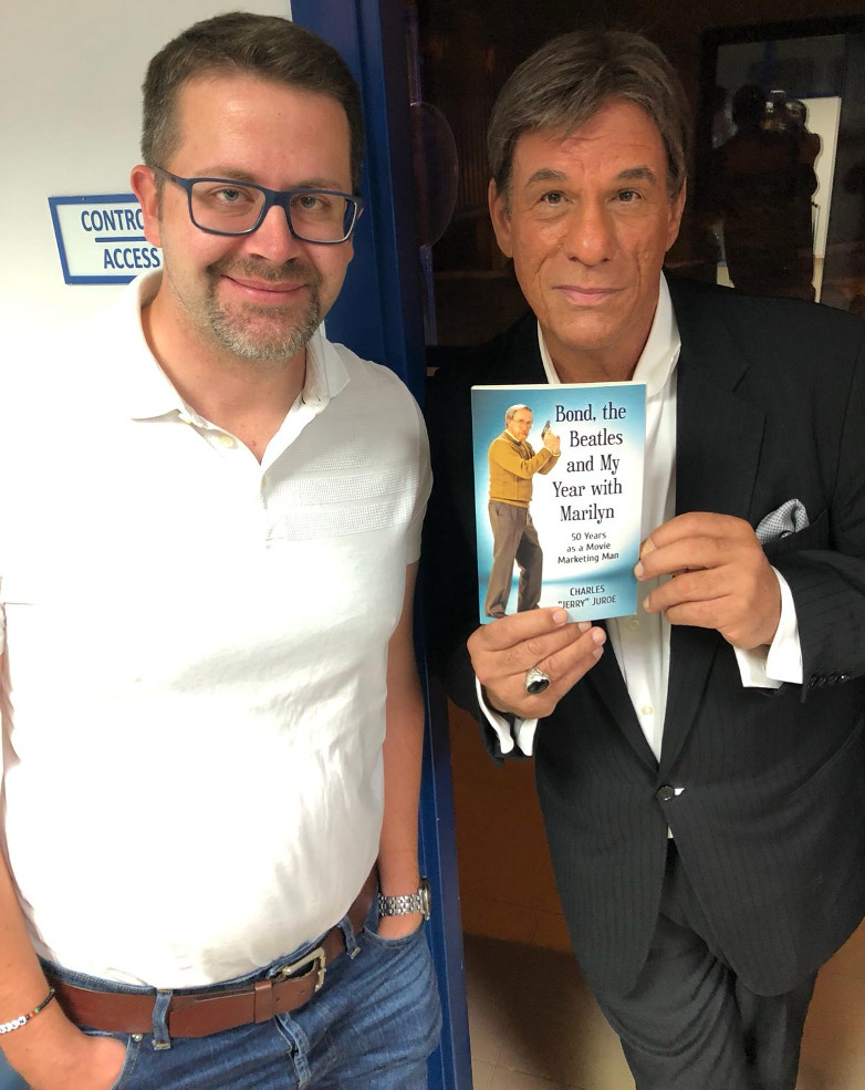Anders Frejdh and Robert Davi in Marbella