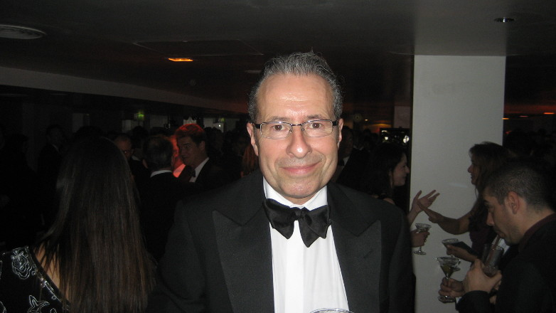 British author Peter James at Casino Royale London World Premiere