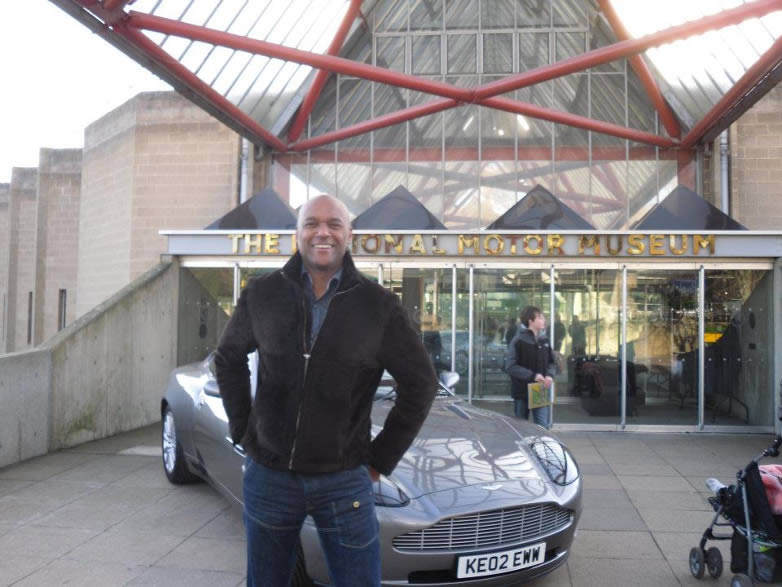 Colin Salmon at Bond in Motion in Beaulieu 2012
