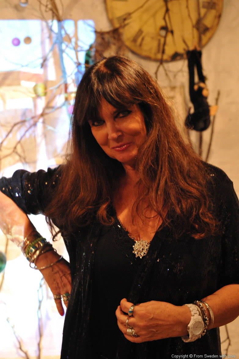 Caroline Munro Misty Moon Gallery London