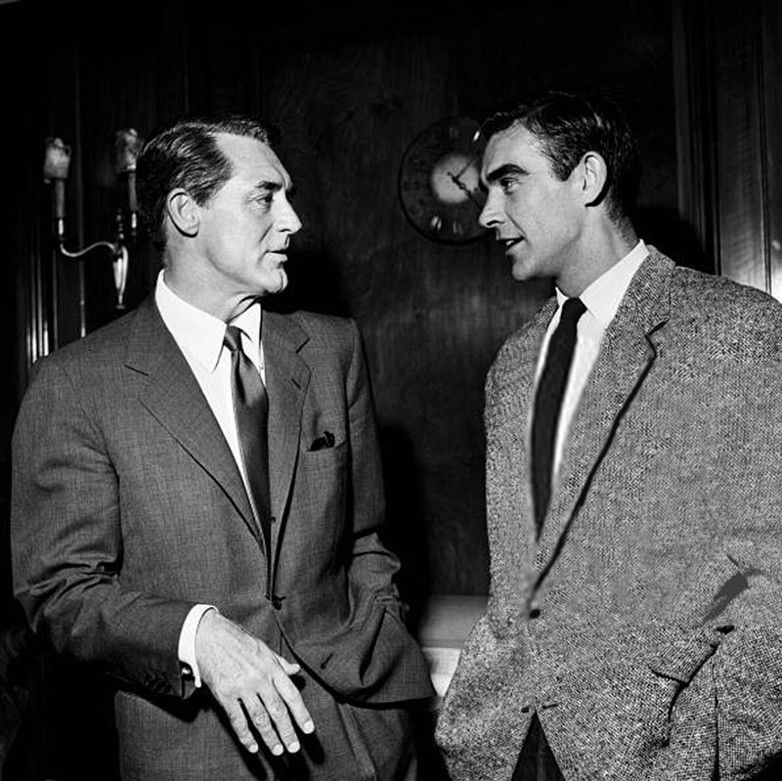 Cary Grant Sean Connery James Bond