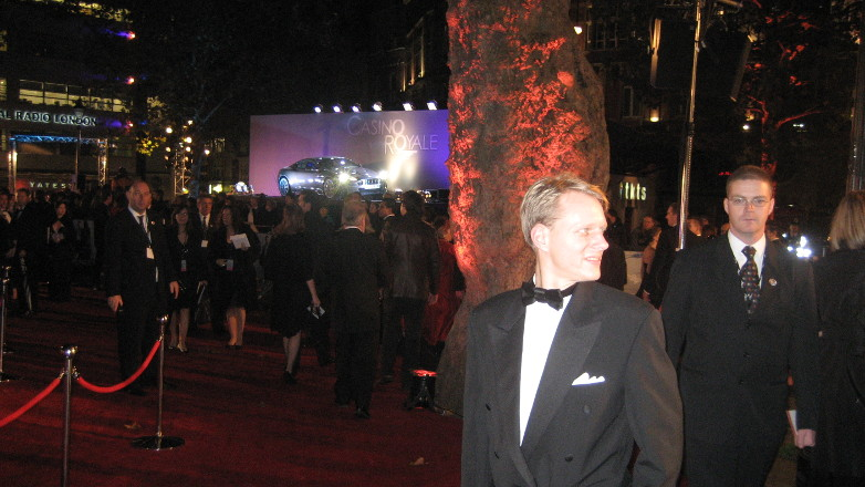 Casino Royale London World Premiere