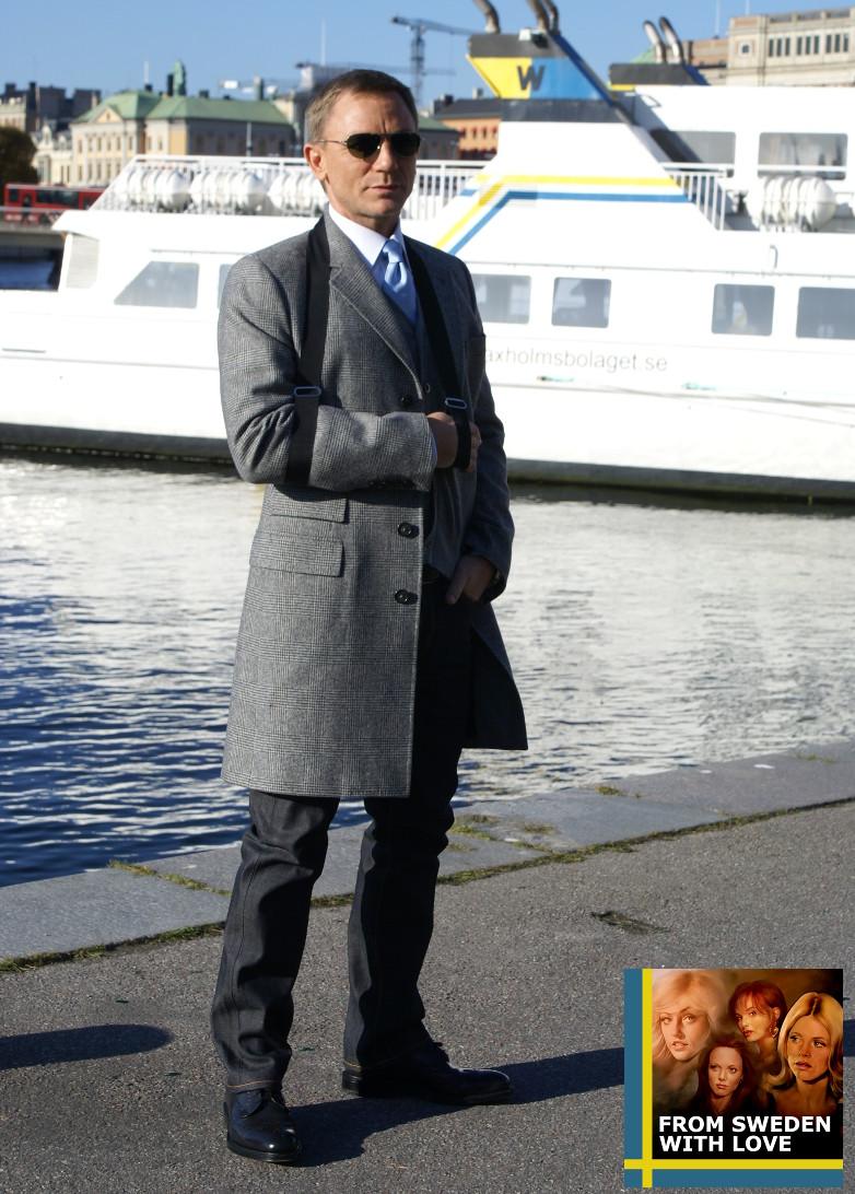 f945d47b80 Daniel Craig in Stockholm to promote Quantum of Solace (2008)