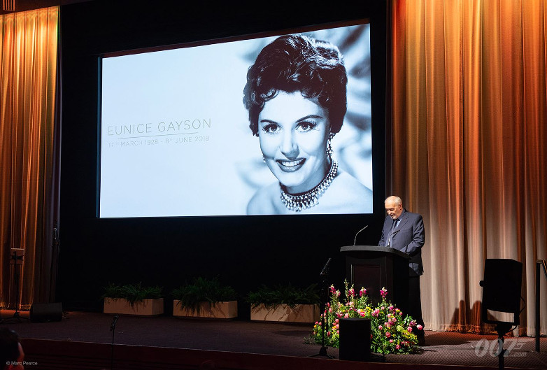 Eunice Gayson Memorial BAFTA London