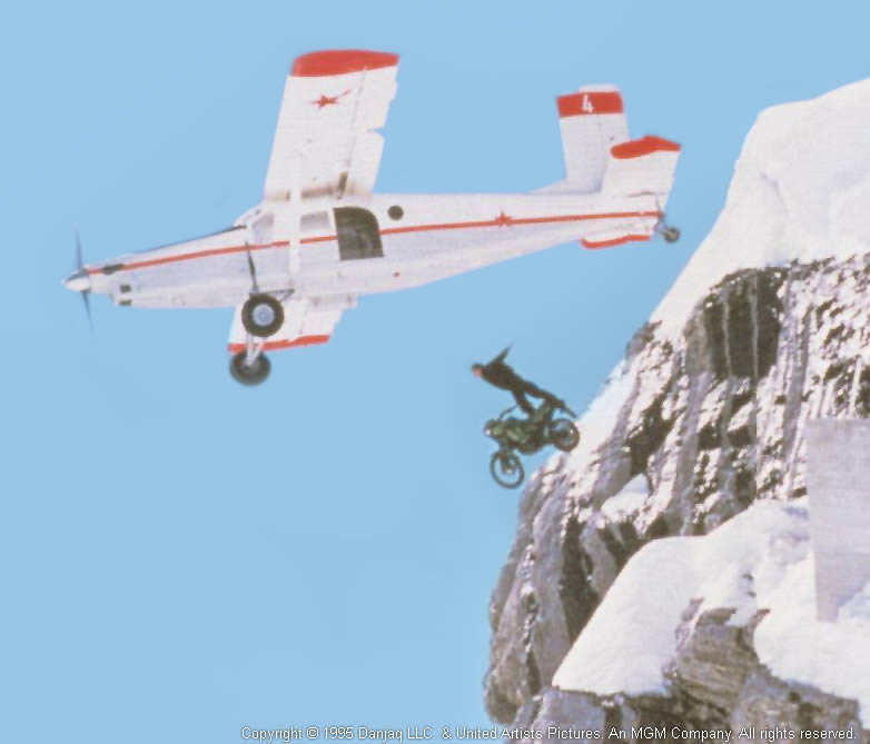GoldenEye film stunt