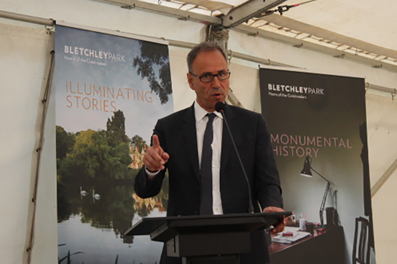 James Bond Author Anthony Horowitz Bletchley Park