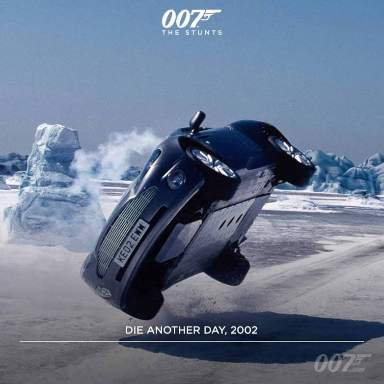 Die Another Day film stunt