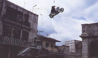 James Bond stunt