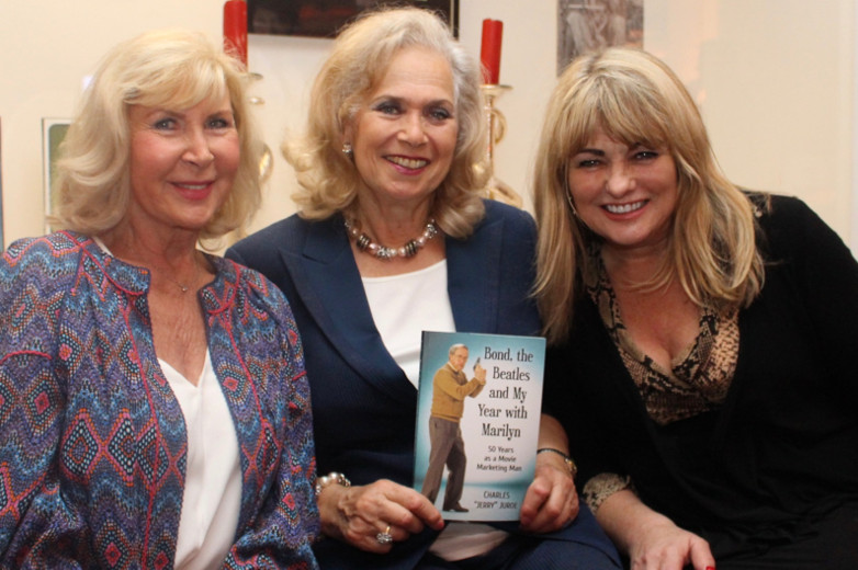 Caron Gardner, Valerie Leon and Carole Ashby at Bond in Motion