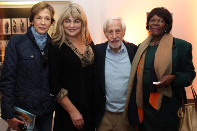 Jerry Juroe with Deborah Moore, Carole Ashby and Sylvana Henriques at Bond in Motion