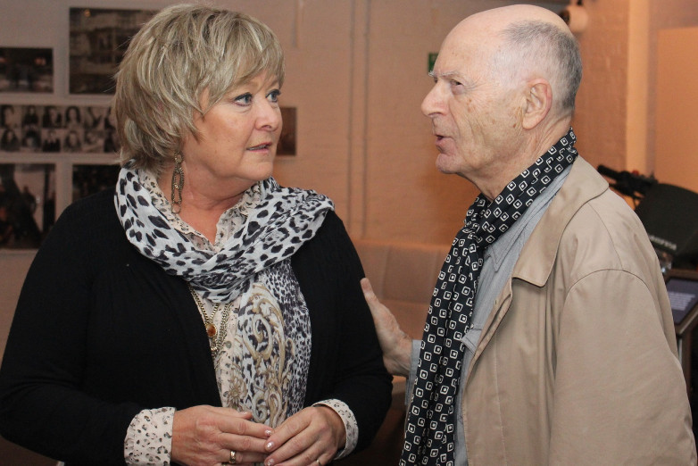 Jenny Hanley and John Moreno at Bond in Motion