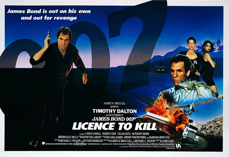 Licence to Kill James Bond film at Thirty