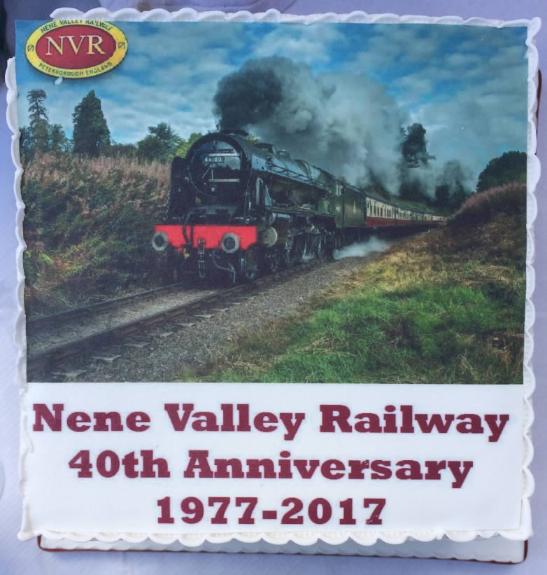 Nene Valley Railway jubileum 1977-2017