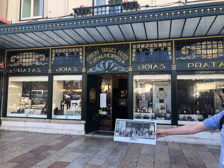The Lisbon jewelry store featured in OHMSS