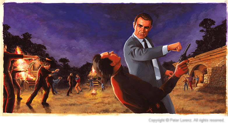 Peter Lorenz Illustrated 007 From Russia with Love