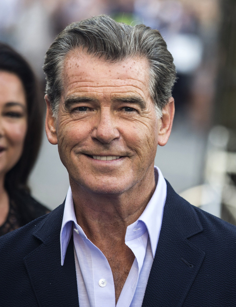 Pierce Brosnan Stockholm Mamma Mia Here We Go Agai