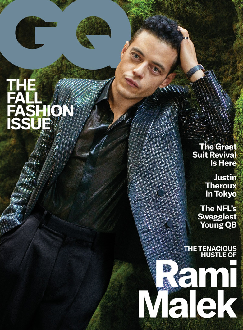 Rami Malek cover GQ September 2019