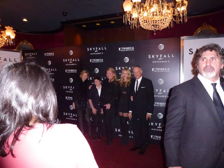 Skyfall New York after premiere party