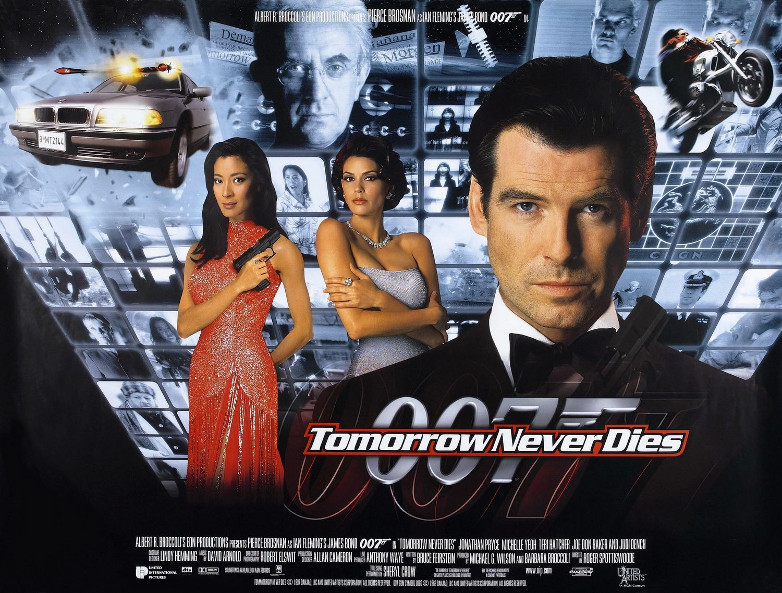 Tomorrow Never Dies poster campaign