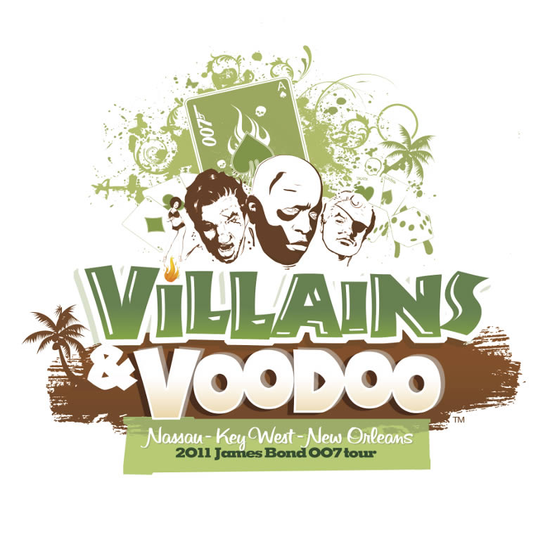Villains Voodoo tour logo