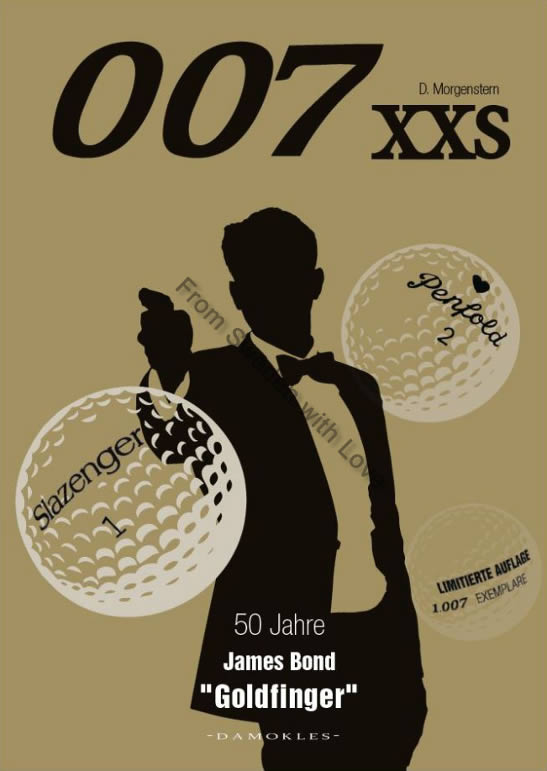 007 XXS 50 Jahre James Bond Goldfinger