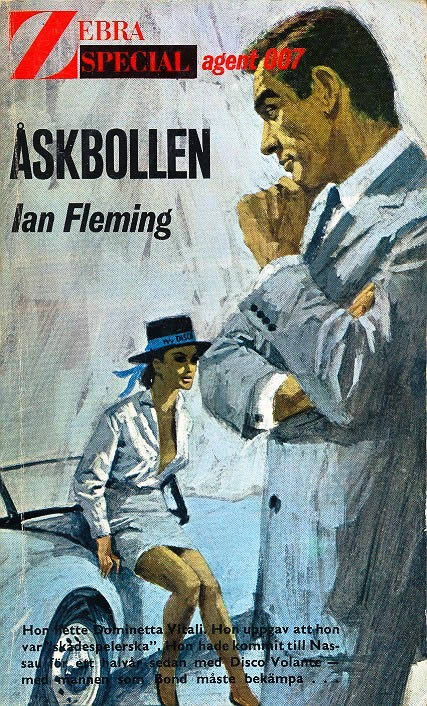 First edition UK hardcover of Thunderball (1961)