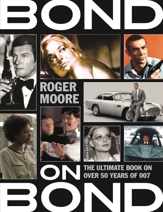 Bond on Bond 2015 paperback Roger Moore