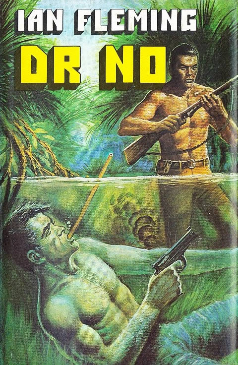 First edition UK hardcover of Doctor No (1958)