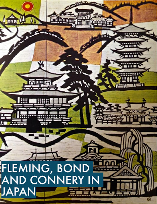 Fleming Bond and Connery in Japan