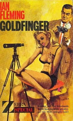 First edition UK hardcover of Goldfinger (1959)