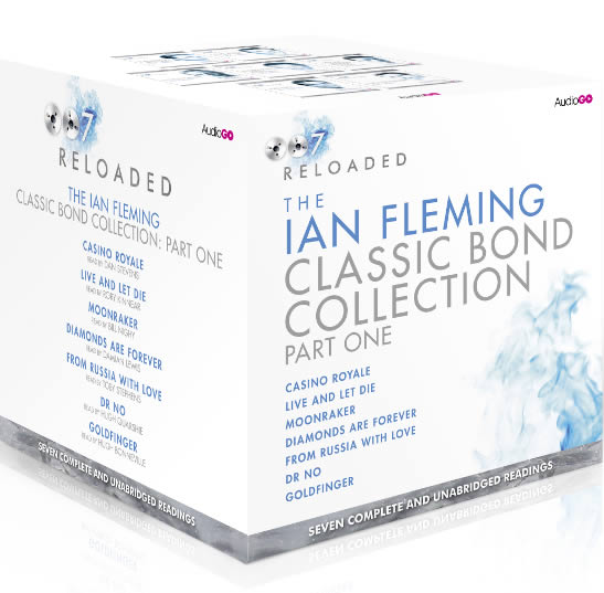 Ian Fleming audiobook set part one