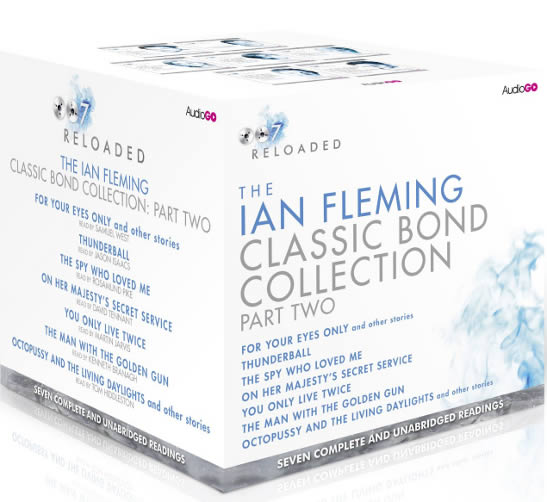 Ian Fleming audiobook set part two