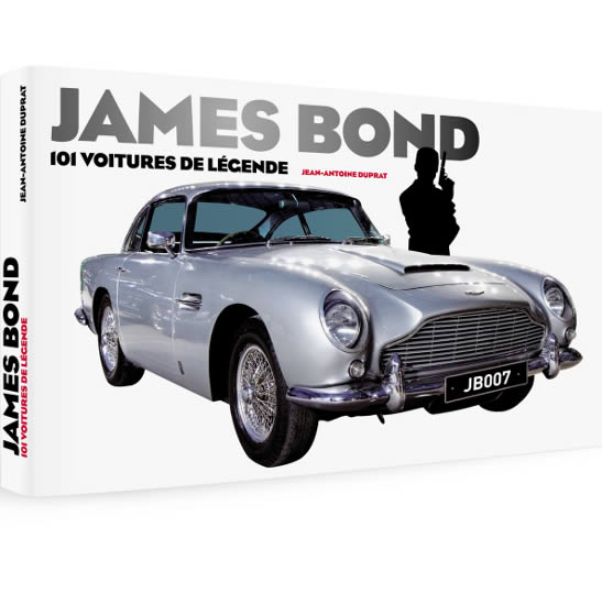 James Bond 101 voitures de legende book