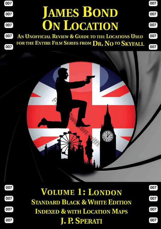 James Bond location book Volume 1