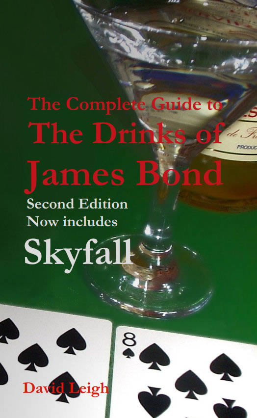 James Bond drinks guide 2nd edition
