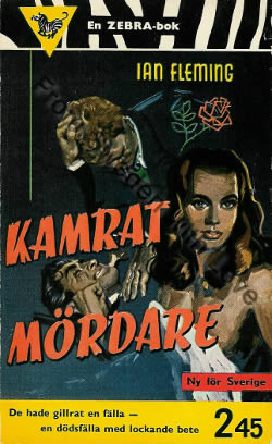 First edition of From Russia With Love (1957)