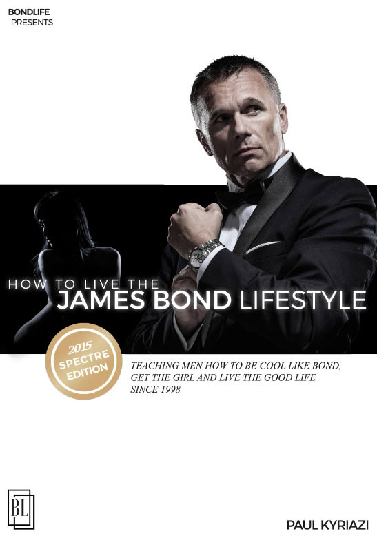 SPECTRE Edition of James Bond Lifestyle