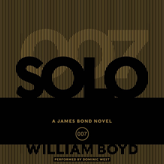 Solo James Bond novel US audiobook 2013