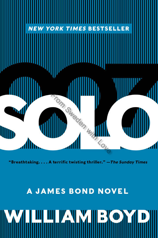 Solo James Bond novel US paperback 2014