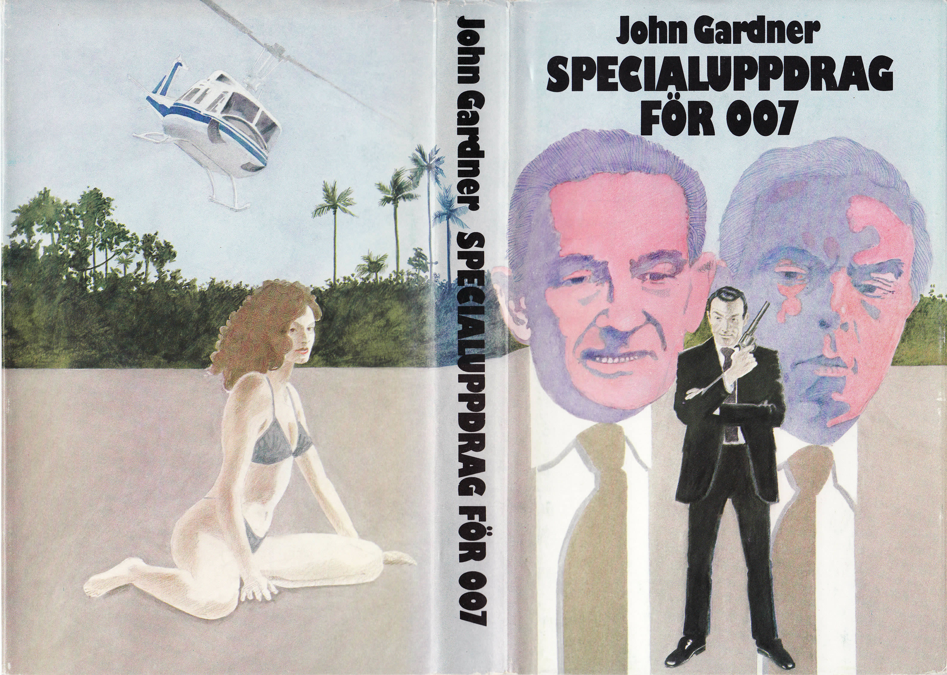 First UK edition of For Special Services (1982)