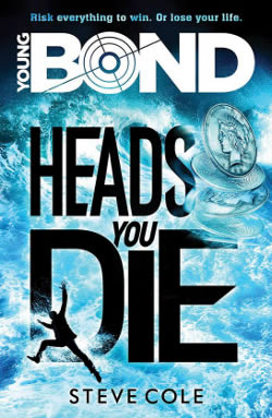First edition UK hardcover of Heads You Die (2016)