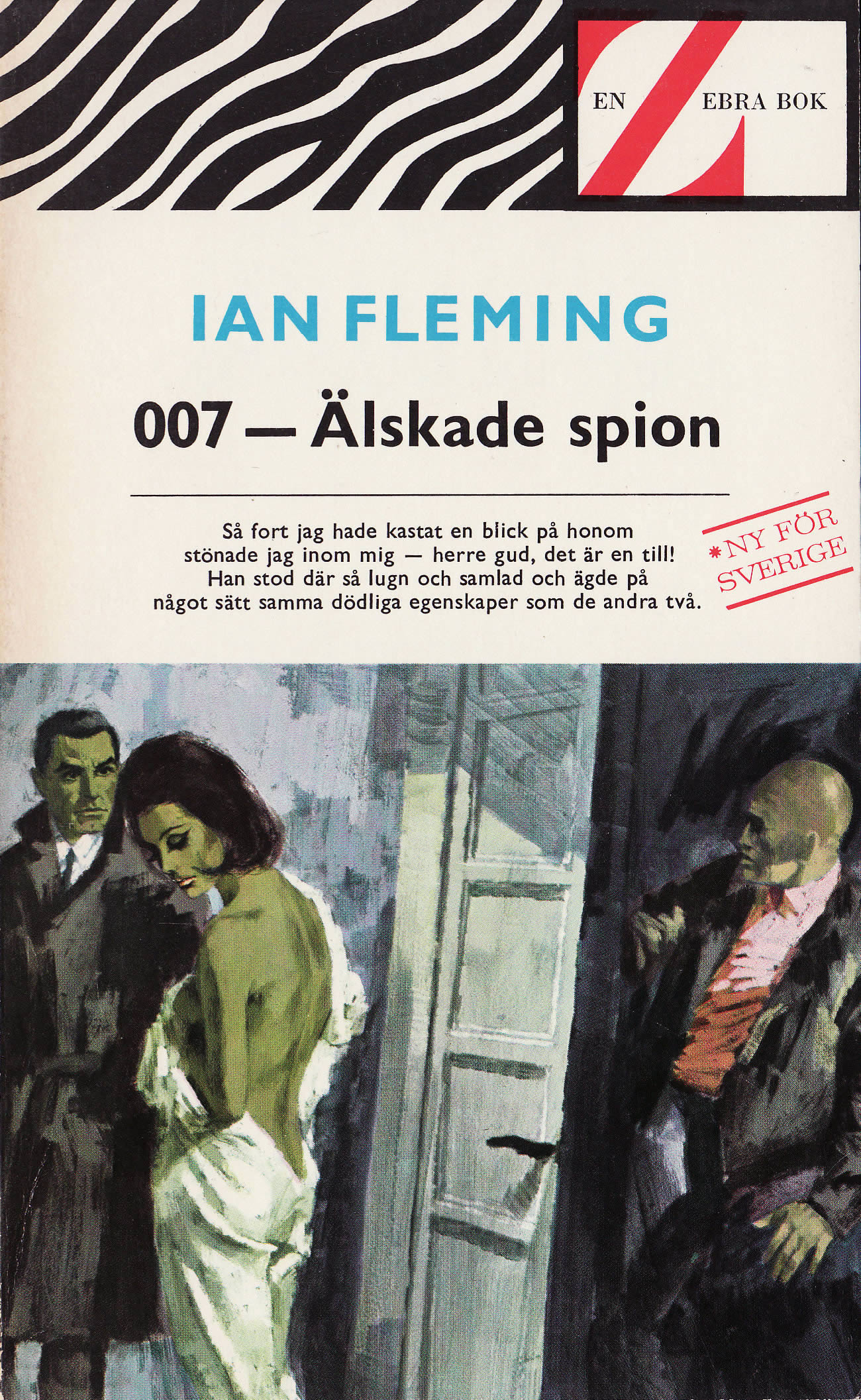 First edition of The Spy Who Loved Me (1962)