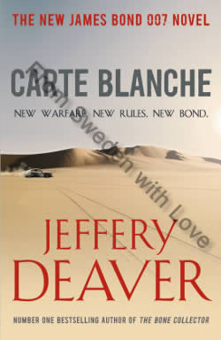 First UK edition of Carte Blanche (2011)