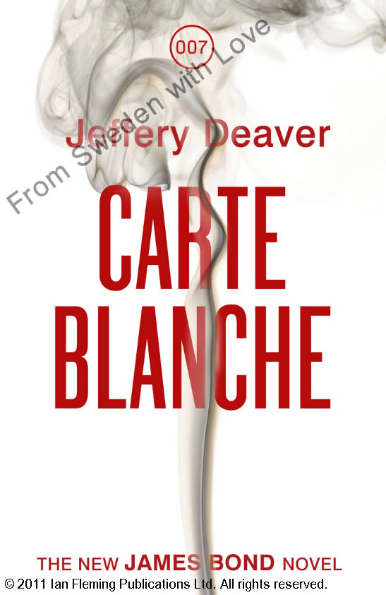 Carte blanche uk hardcover