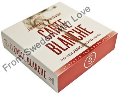 Carte blanche UK audiobook